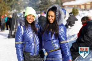 MLK Ski Weekend winter fun in the snow sister love