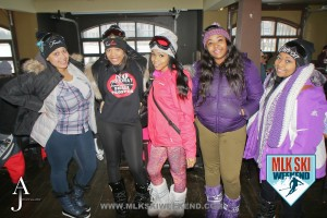 MLK Ski weekend 2016 group of ladies at happy hour