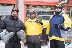 MLK Ski Weekend 2017 Black Ski Weekend ski boots Michigan