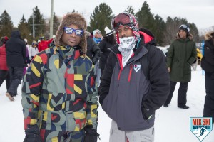 MLK Ski Weekend 2017 Black Ski Weekend bandits snowboard