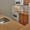MLK Ski Weekend 1 Bedroom with Den Village Suite Kitchen view 1