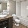 MLK Ski Weekend Mosaic 2 bedroom bathroom