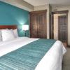 MLK Ski Weekend Mosaic 2 bedroom king bedroom