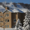 MLK Ski Weekend Mountain Walk 3 bedroom condo mountain side view