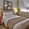 MLK Ski Weekend Wintergreen 3 bedroom condo queen bedroom upstairs