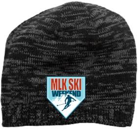 Beanie 2018-20th anniversary souvenir MLK Ski Weekend winter hat
