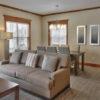 MLK Ski Weekend Snowbridge 3 bedroom luxury Villa living and dining room