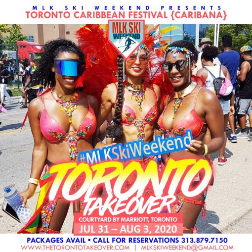The Toronto Takeover by MLK Ski Weekend Triple Occupancy
