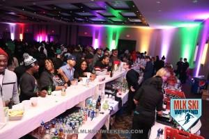MLK Ski Weekend 2016 Crowd shoot of Bar Scene at Opening night event