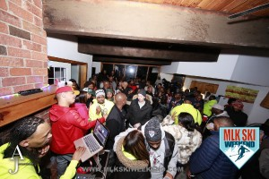 MLK Ski Weekend 2016 crowd shot after party