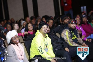 MLK Ski Weekend 2016 crowds shots from comedy show and relationship forum