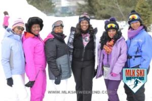 MLK Ski Weekend 2017 Black Ski Weekend Black Girl Magic (1)