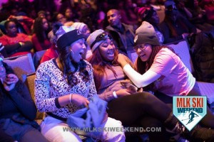MLK Ski Weekend 2017 Black Ski Weekend Comedy Show laughter