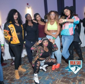 MLK Ski Weekend 2017 Black Ski Weekend Houston Louisiana crew  90s party