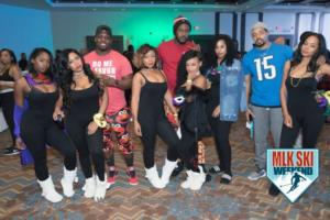 MLK Ski Weekend 2017 Black Ski Weekend Louisiana meets Detroit at PJ party (1)