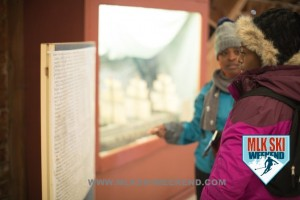 MLK Ski Weekend 2017 Black Ski Weekend Sheffield Park Museum display