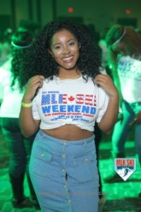 MLK Ski Weekend 2017 Black Ski Weekend T Shirt Party 21 anniversary