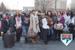 MLK Ski Weekend 2017 Black Ski Weekend Texas bus ready to load