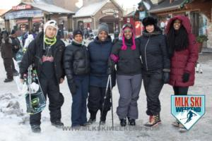 MLK Ski Weekend 2017 Black Ski Weekend Village life with diverse friends (1)
