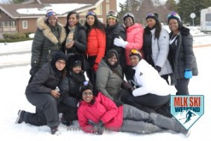 MLK Ski Weekend 2017 Black Ski Weekend ground pose