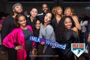 MLK Ski Weekend 2017 Black Ski Weekend group photo men and women Pajama Party