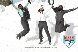 MLK Ski Weekend 2017 Black Ski Weekend leap in snow