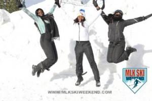 MLK Ski Weekend 2017 Black Ski Weekend leap in snow