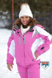 MLK Ski Weekend 2017 Black Ski Weekend pink jacket hat tubing