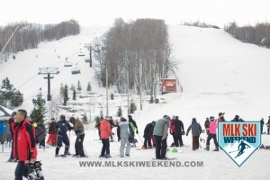 MLK Ski Weekend 2017 Black Ski Weekend resort view Blue Mountain