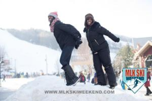 MLK Ski Weekend 2017 Black Ski Weekend ski jump pose (1)