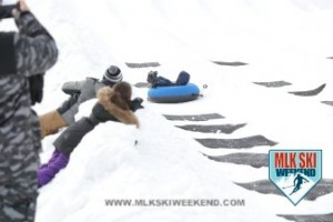 MLK Ski Weekend 2017 Black Ski Weekend tube park