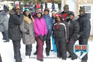 MLK Ski Weekend 2017 Blue Mountain Resort Village jackets goggles Black Ski Weekend Tubing (2)