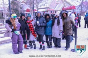MLK Ski Weekend Black Ski Weekend village day party